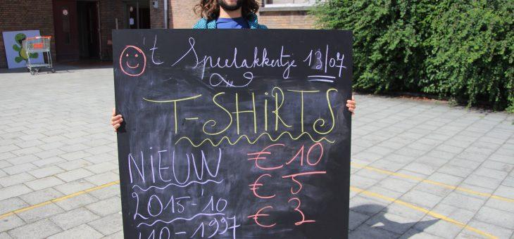 Nieuwe T-shirts!