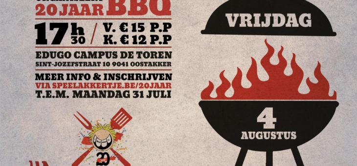 Laatste inschrijvingen voor de barbecue !